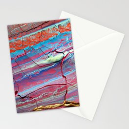 Cracked Color Stationery Cards