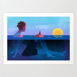 Parenthood Art Print