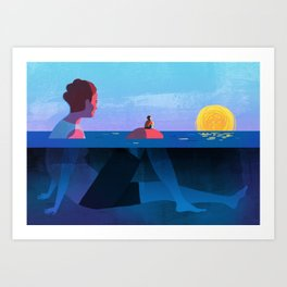 Parenthood Art Print