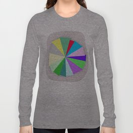 Color Bars Long Sleeve T-shirt