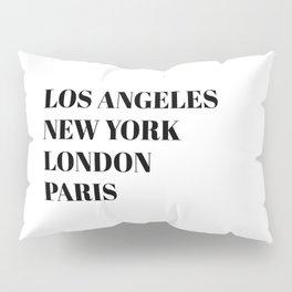 cities Pillow Sham