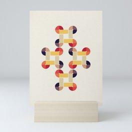 'round and 'round Mini Art Print