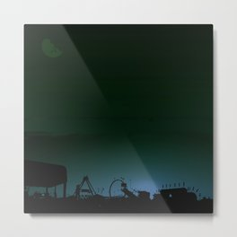 Bleeding Night Fair Metal Print