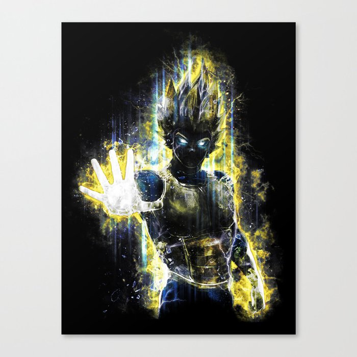 The Prince of all fighters Canvas Print