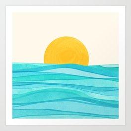 Ocean View Art Print