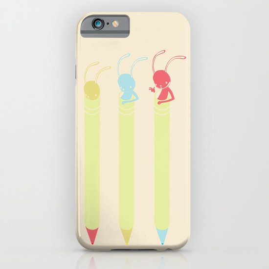 INK BUNNY & ROLL iPhone & iPod Case