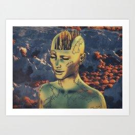 citybrain Art Print