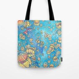 Jellyfish Lake Tote Bag