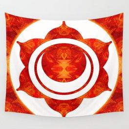 Exploding Sensuality Abstract Chakra Art Wall Tapestry