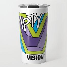 Empty V (purple) Travel Mug