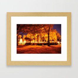 exposures and cars  Framed Art Print