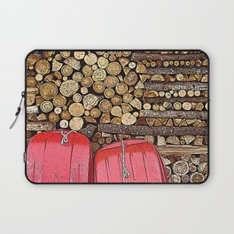 let's go and have fun! Laptop Sleeve