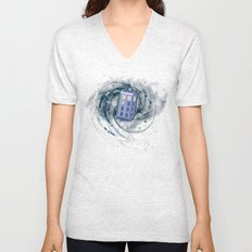 Space and Time and the Universe Unisex V-Neck