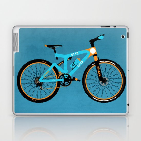 Mountain Bike Laptop & iPad Skin
