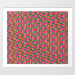 Geometrix / Spring Art Print
