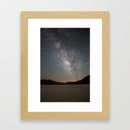 Milky Way - Death Valley Framed Art Print
