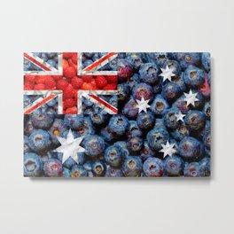Healthy Australia Flag Metal Print