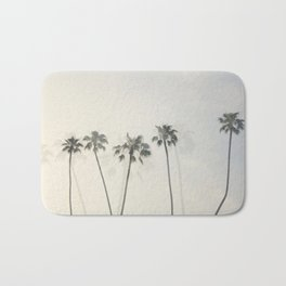 Double Exposure Palms 1 Bath Mat