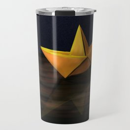 Paper Boat  Travel Mug