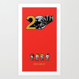 Mother 2/Earthbound 20th Anniversary Art Print