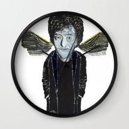 Kurt Vonnegut Jr Oil Painting by Tony King  Wall Clock