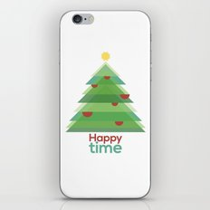 Happy time iPhone & iPod Skin