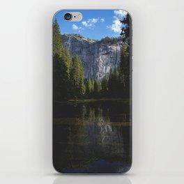 Yosemite National Park - Reflection of Mountains iPhone Skin