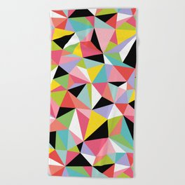 Geometric Jane Beach Towel