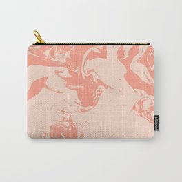 Watercolor marble paint suminagashi painting japanese water ocean pisces marbled pattern Carry-All Pouch