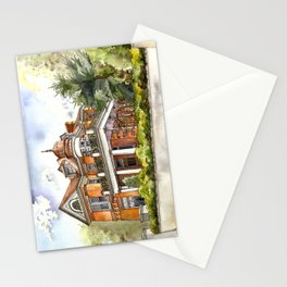 Stately Manor House Stationery Cards
