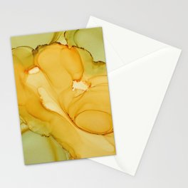 Alcohol Ink Composition Stationery Cards
