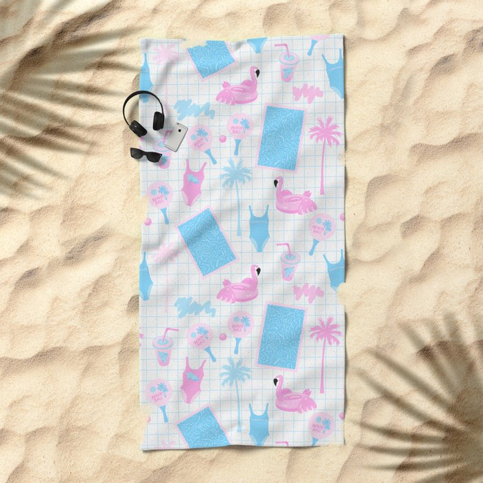 Pool party Beach Towel