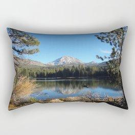 Manzanita Lake Heaven Rectangular Pillow