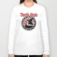 vikings Long Sleeve T-shirts featuring Vikings by North Style
