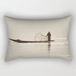 Inle Lake Myanmar Rectangular Pillow