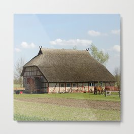 Farmhouse20150404 Metal Print