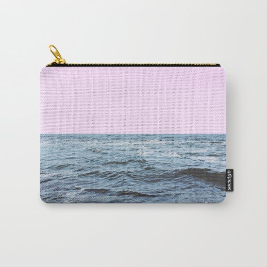 Sea + Pink Carry-All Pouch