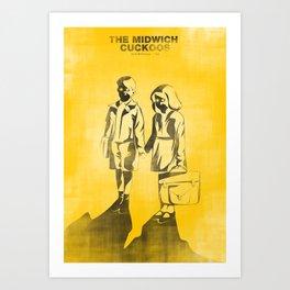 The Midwich Cuckoos Art Print