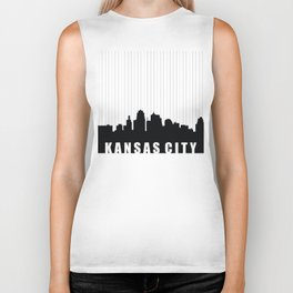 Kansas City Skyline Biker Tank