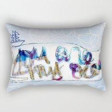you are my ocean Rectangular Pillow