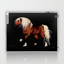 HORSE - Black Forest Laptop & iPad Skin