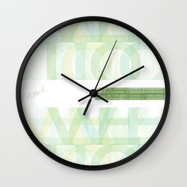 Self-Love Wall Clock