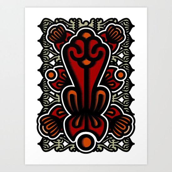 Biotica 1 Art Print