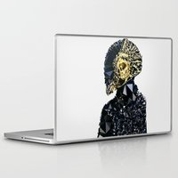 daft punk Laptop & iPad Skins featuring Daft Punk by El Felo