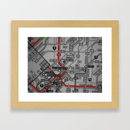 DTLA Framed Art Print