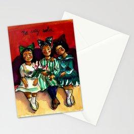 No voy sola Stationery Cards