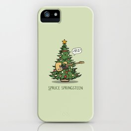 Spruce Springsteen iPhone Case