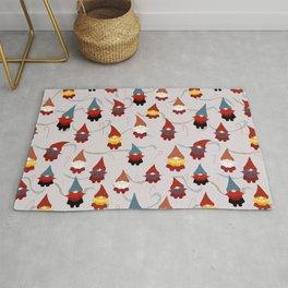 Gnome pattern 1c Rug