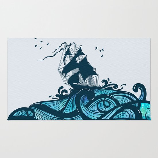 Upon The Sea Rug