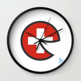 Switzerland Smile Wall Clock